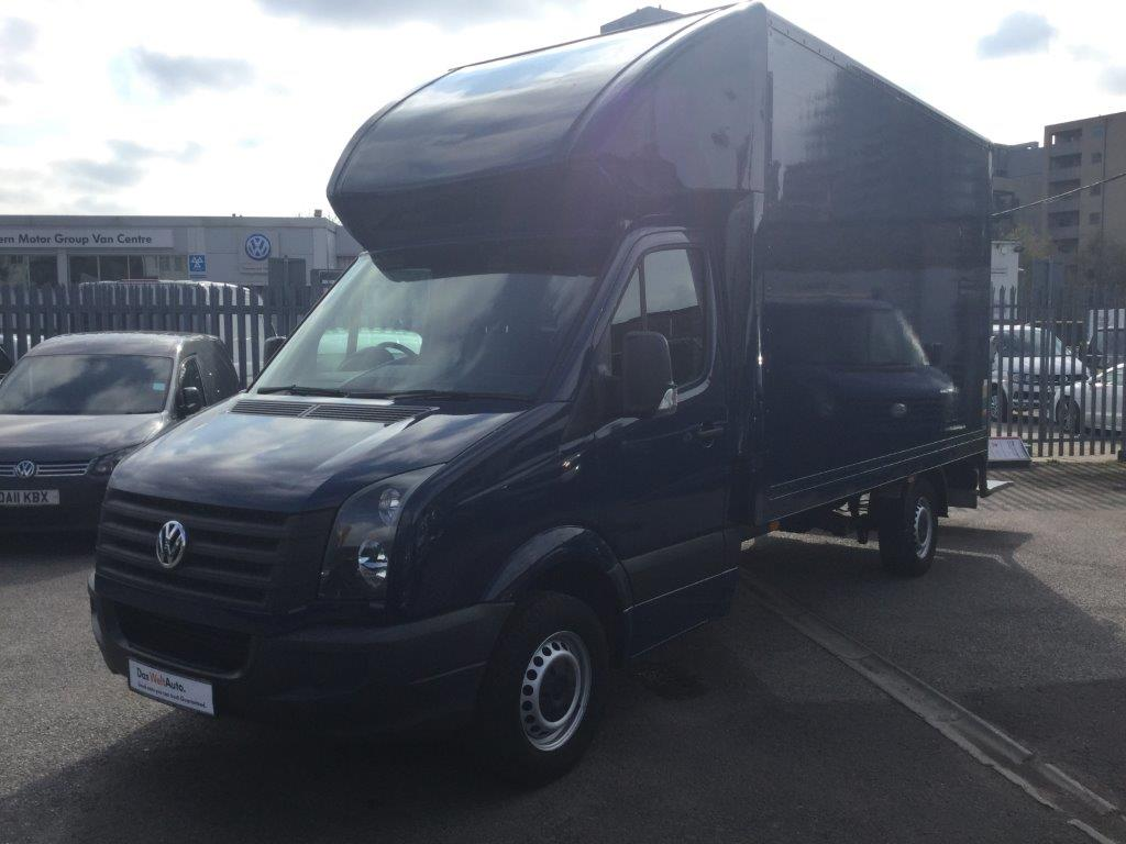 Crafter Luton High Roof Box Cab 2.0Tdi 109PS CR35 LWB EU6 with Tail Lift