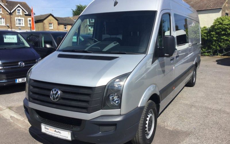 Crafter 2.0TDi (109PS) CR35 LWB Chassis Cab