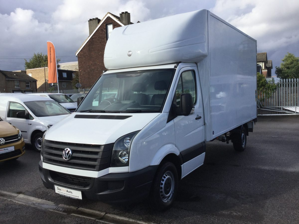Crafter Chassis Cab Luton 2.0TDi 109PS EU5 LWB Manual with TailLift